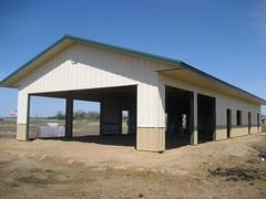 LWBAF Multipurpose Building under construction