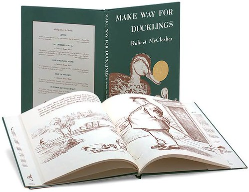 Top 100 Picture Books #6: Make Way for Ducklings by Robert McCloskey
