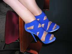 sandalias zara 13cm 2 (maria_nvrr1185) Tags: azul high highheels sandals heels stilettos sandalias electrico taconazos