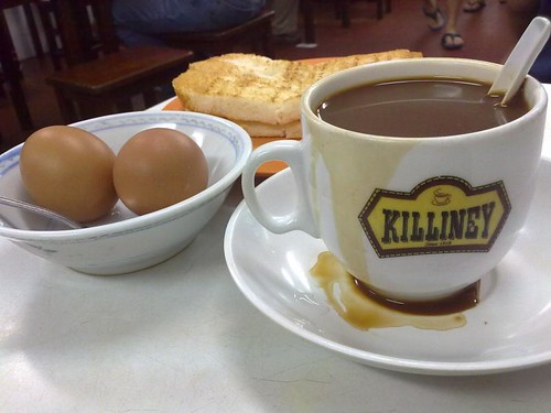 Kopi, Soft Boiled Eggs, and Kaya Toast