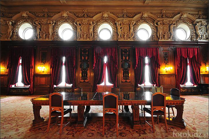 Sala jadalna w Muzeum Historii Miasta �odzi