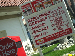 last stop before the airport (_melika_) Tags: hamburgers hamburger drivethru innoutburger doubledouble innout thatswhatahamburgersallabout costamesaca