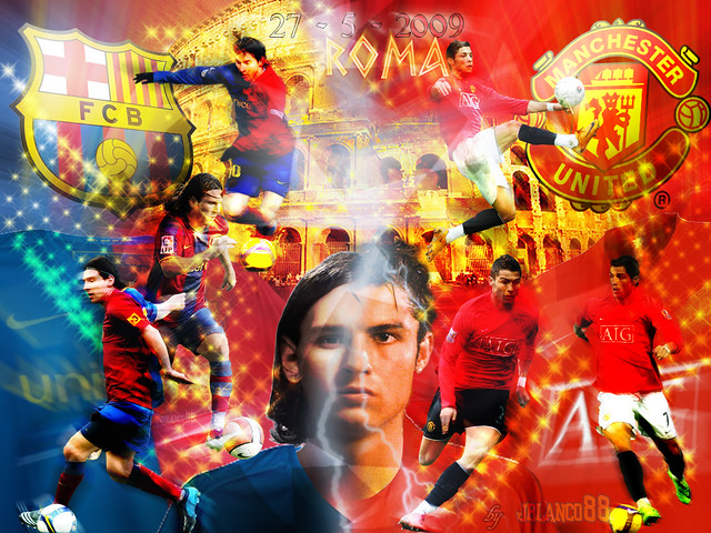 Barcelona vs Manchester United | Flickr - Photo Sharing!