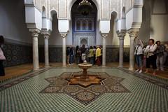 Fountain Of The Mausoleum (MykReeve) Tags: fountain columns morocco mausoleum column meknes burialchamber mausoleumofmoulayismail المملكةالمغربية المغرب مكناس ablutionsroom ablutionroom