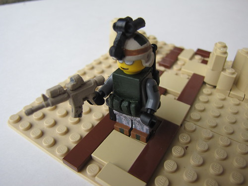 US Army Ranger Rifleman custom minifig