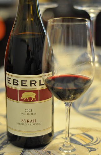 2005 Eberle Steinbeck Vineyard