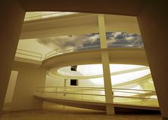 Museo de la Memoria - interior (Micheo) Tags: white art blanco architecture arquitectura arte granada campobaeza micheo albertocampobaeza cajadeahorros museodelamemoriadeandalucia