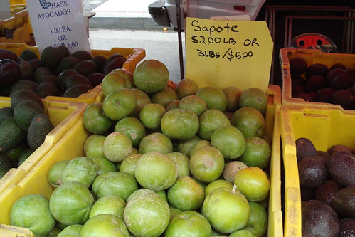 Sapote in Hollywood