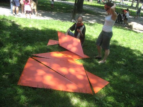 giant tangram
