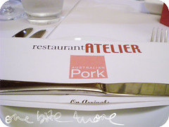 restaurant atelier