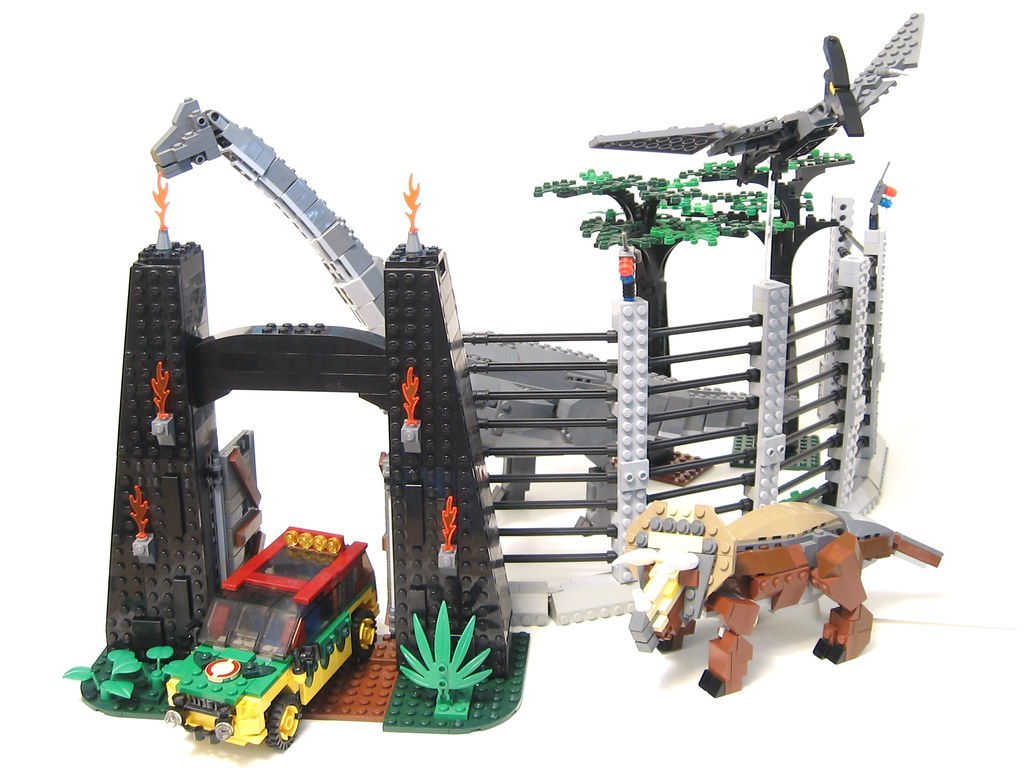 The world 39 s best photos of jurassicpark and moc flickr - Jurasic park lego ...