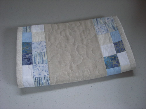 Table Runner all folded up and ready for gifting