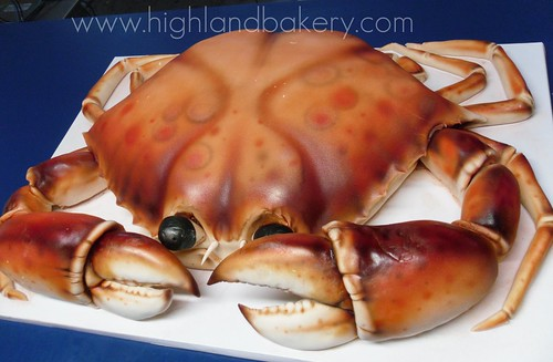 Red Crab Cake