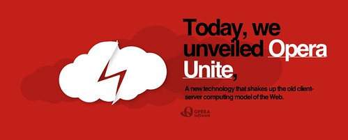 Today, we unveiled Opera Unite