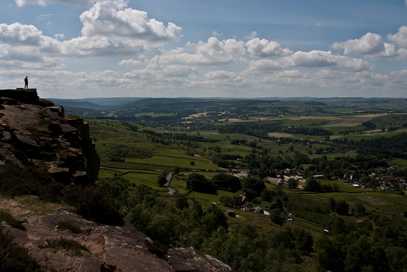 View  from Curbar (Peak District, UK)