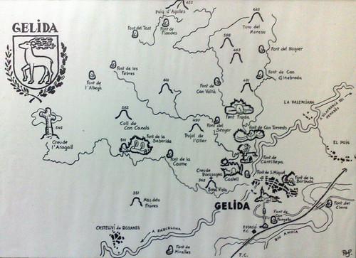 Fonts i Muntanyes de Gelida