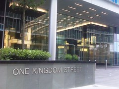 one kingdom street 										 entrance