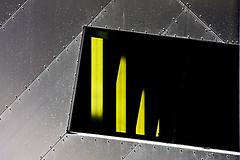 Restaurant Window (topcat-tc) Tags: building window metal architecture restaurant salfordquays imperialwarmuseumnorth