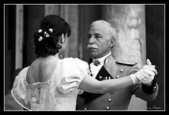 1 - Rigore e fermezza (Luca Messori) Tags: bw white black face dance faces danza emotions ballo volti emozioni visi