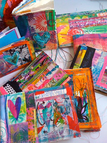 art journals by Traci Bautista