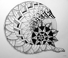 (Jo in NZ) Tags: drawing doodle zentangle nzjo zendoodle