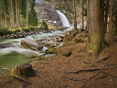 Krimml - Fairyland (mibreit) Tags: nature water forest landscape austria waterfall sterreich wasserfall natur landschaft cascade dri krimml nationalparkhohetauern krimmlerwasserflle krimmlerwasserfall