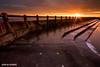 Bathed in Light (Azzmataz) Tags: sun sunrise bay hall open d air tyne wear explore baths tynemouth whitley explored a ©2010 anthonyhallphotographic ©2010adhall