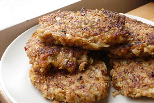 Cabbage Latkes