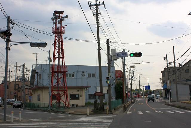 上内間木の火の見櫓(朝霞市)