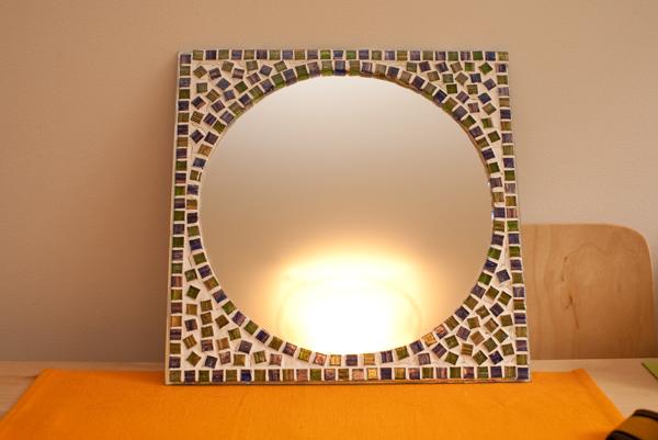 Как красиво задекорировать зеркало своими руками 96