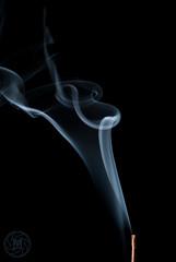 Smoke Test-2 (Magliocchetti.M.) Tags: life light stilllife macro blackwhite nikon colore smoke flash sm bn bianconero controluce blackdiamond viraggio fumo d3000 nikonflickraward