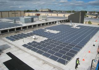 NFTA Solar Installation - October 2010