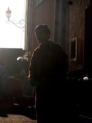 Marrakech people - blind beggar (Morocco)