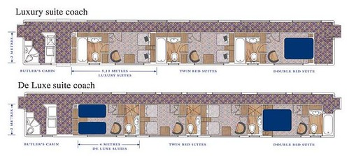 Blue Train (South Africa) - Carriage plans