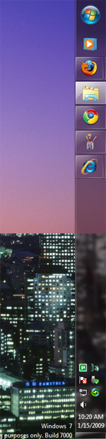 Windows 7 Taskbar Right Side