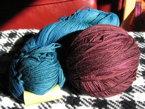 DIC Smooshy in Blue Lagoon and Gothic Rose
