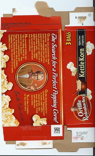Orville Redenbacher Caught Lying - Details