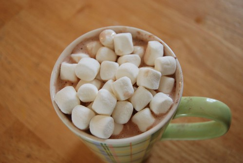 Would you like a little cocoa with your marshmallows? by you.