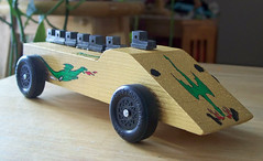 Golden Dragon derby car