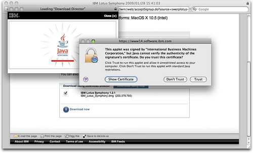 Downloading Symphony