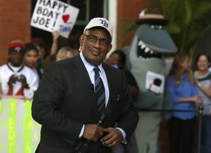 Irony Defined: Al Roker In A Rays Cap