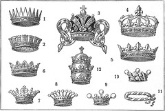 Crowns / Coroas (CGoulao) Tags: old illustration vintage book design king graphic picture prince icon dessin queen engraving crown goldenage livro draw coroa ilustrao rei velho desenho 1920 ancienne antigo lithograph duque gravura rainha principe baro figura gravure iconographie ilustrar goldenageofillustration