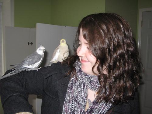 Chandri & ze birdies