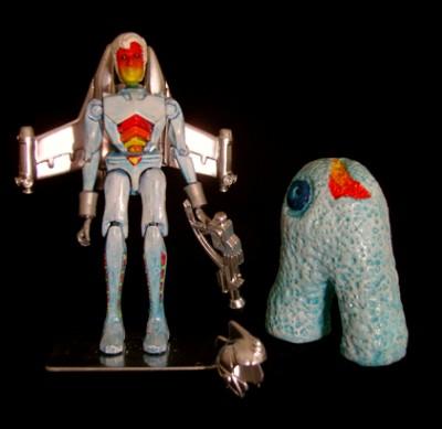 Custom Microman Trade