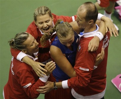 Czech Republic Spain Fed Cup