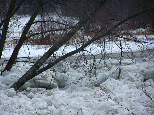 Ice Jam on Missisquoi River - 06 by you.