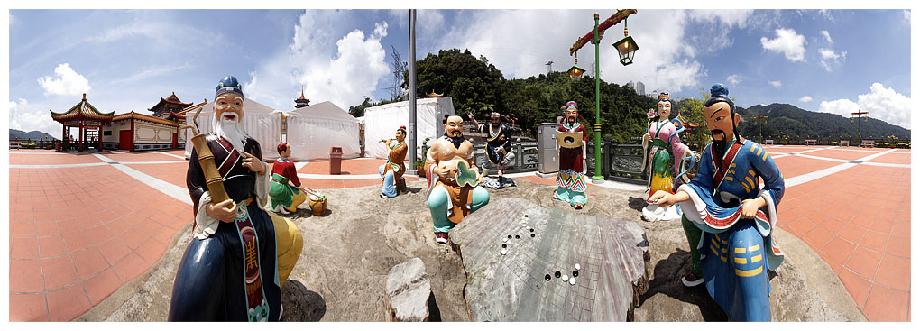 Chin Swee Temple Panorama