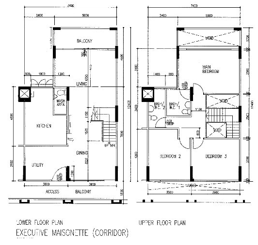 HDB Floor Plan - Singapore Real Estate Agent - Harry LIU