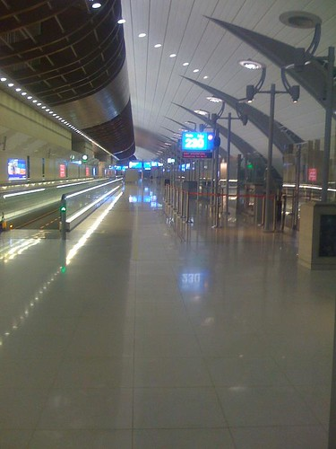 View from the Dubai Airport