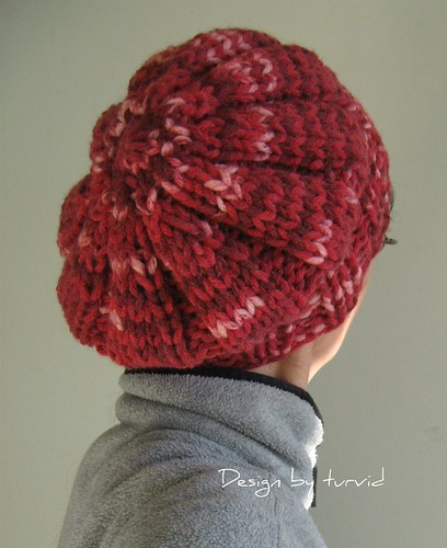 Free Knitting Pattern Hat Bulky Yarn : Give me a purl!: Free pattern: Anyway - Chunky Hat in ...